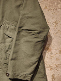 "FWK by Engineered Garments ""Highland Parka in Olive Cotton Double Cloth"""