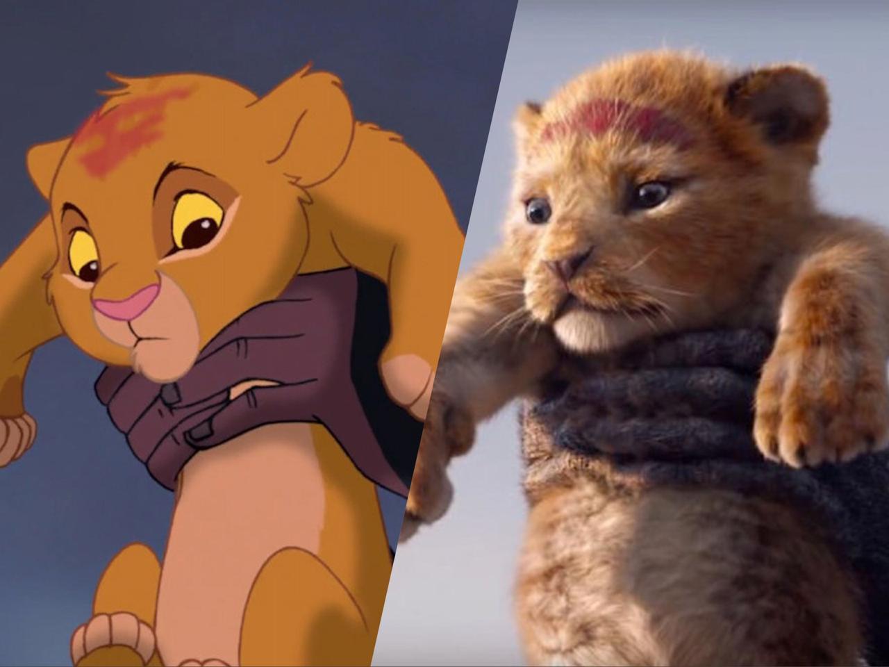 Король Лев сравнение