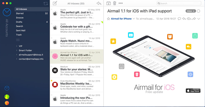 Airmail Mail Client for Mac