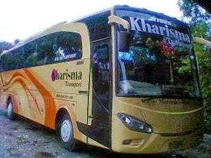 rute dan tarif bus kharisma transport makassar
