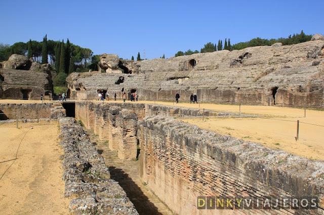 Juego de Tronos en Andalucia - Italica - Santiponce