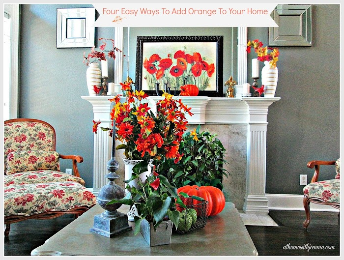 Four Easy Ways To Add Orange To Your Home