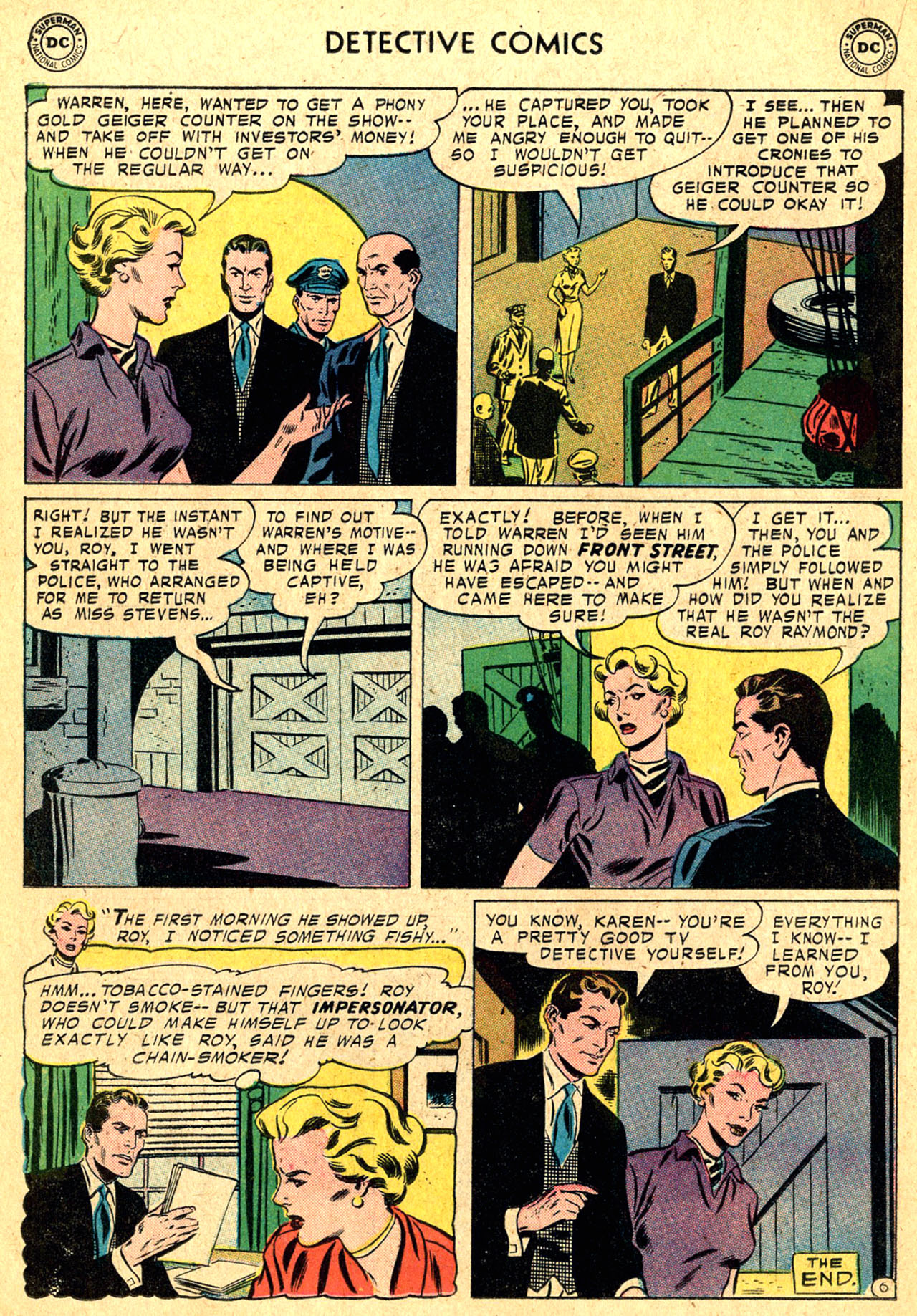 Read online Detective Comics (1937) comic -  Issue #250 - 22