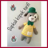 Amigurumi perrito con sombrero