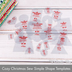 http://www.fatquartershop.com/cozy-christmas-sew-simple-shapes-templates