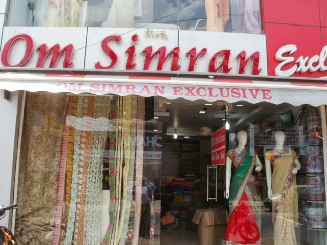 om simran exclusive saree show room banjara hiils hyderabad