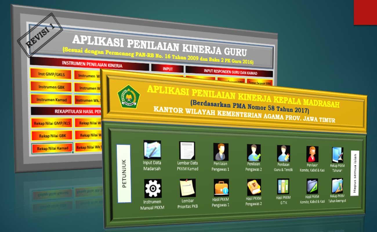 Download Aplikasi PKG PKKM RA MI Terbaru Format Excel