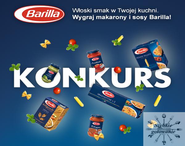 Prosty konkurs z firmą Barilla