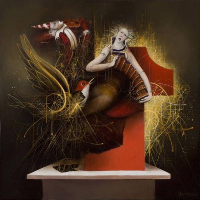 Современные художники Бельгии. Jean-Claude Dresse 15