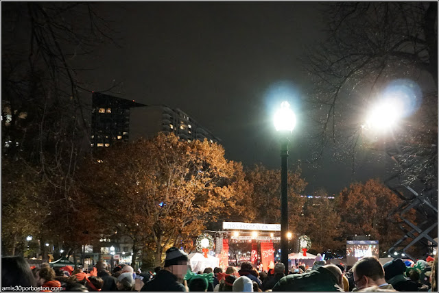 Encendido del Árbol de Navidad Oficial de Boston