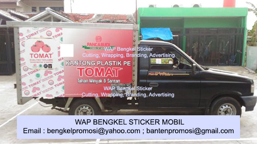 Sticker Branding Mobil Box