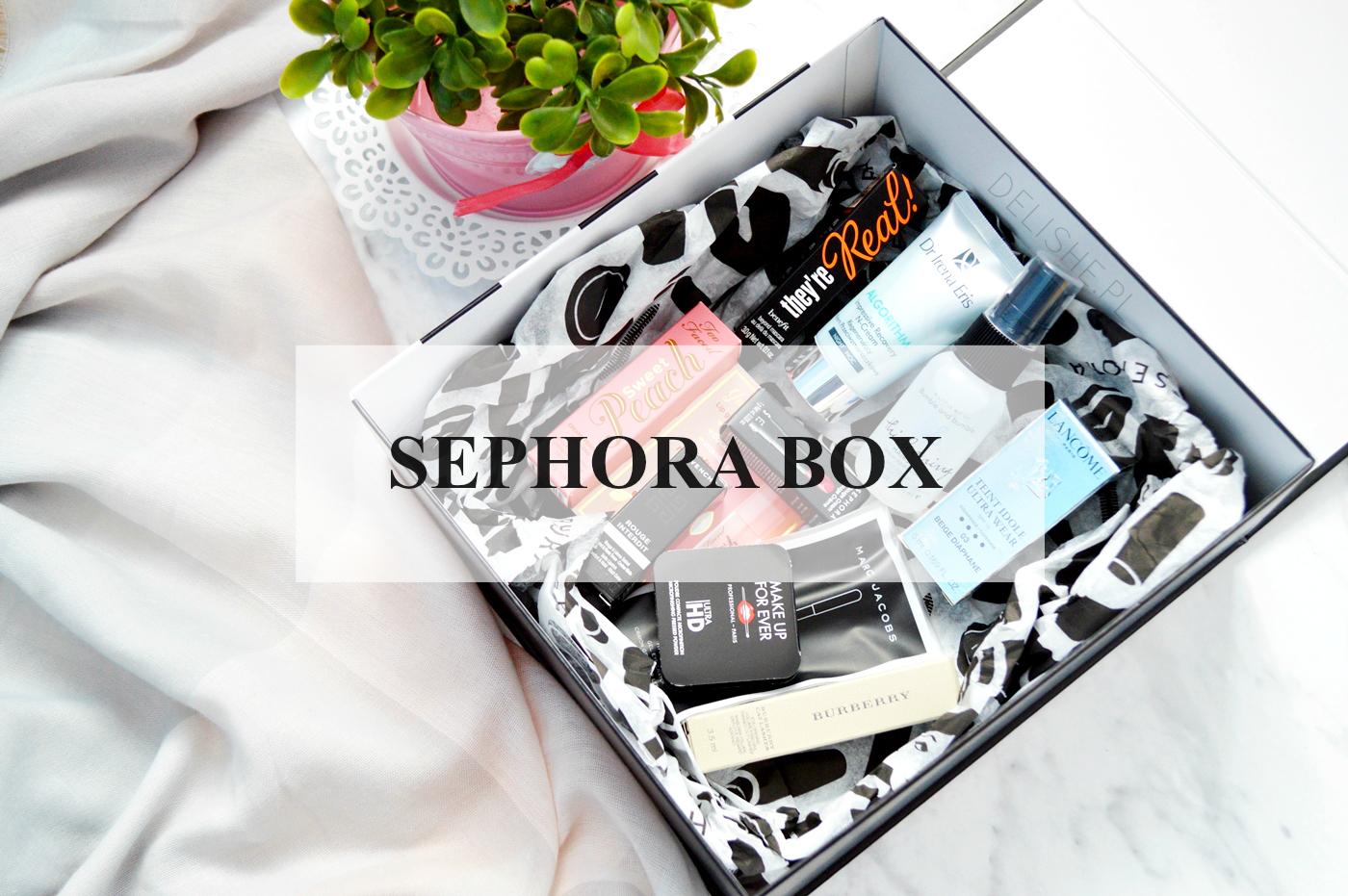 sephora box co jest w środku