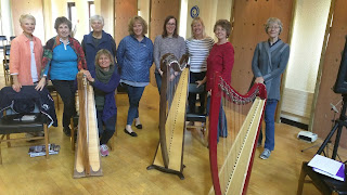 group harp workshop in Shetland