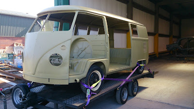 Pauls splitscreen van project: Chemical stripping the van at Enviro