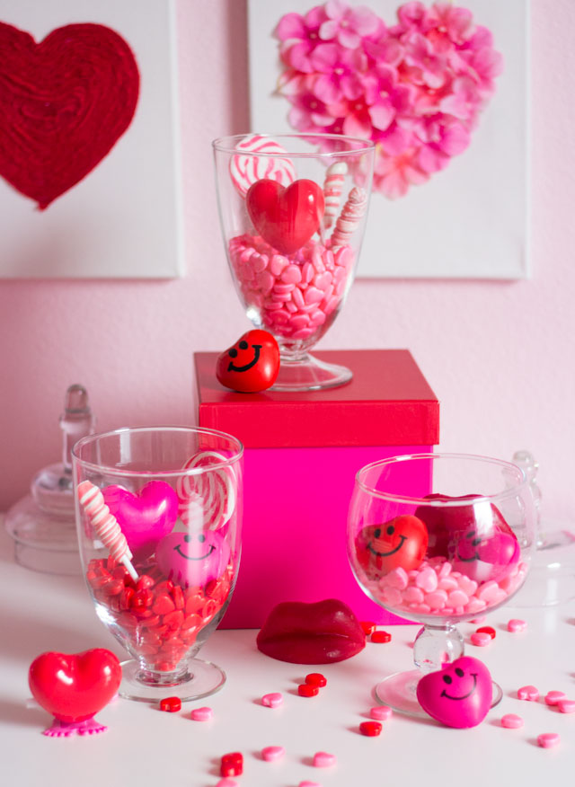 Valentine S Day Candy Terrariums Design Improvised