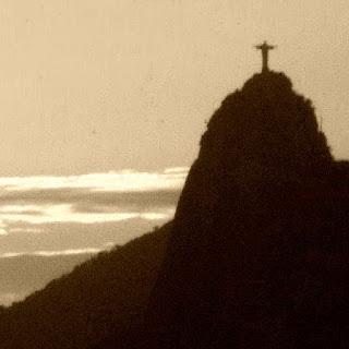 Morro do Corcovado visto a partir do Morro da Urca