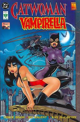 Catwoman y Vampirella