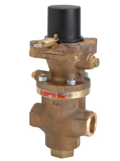 industrial pressure regulator valve for steam brass