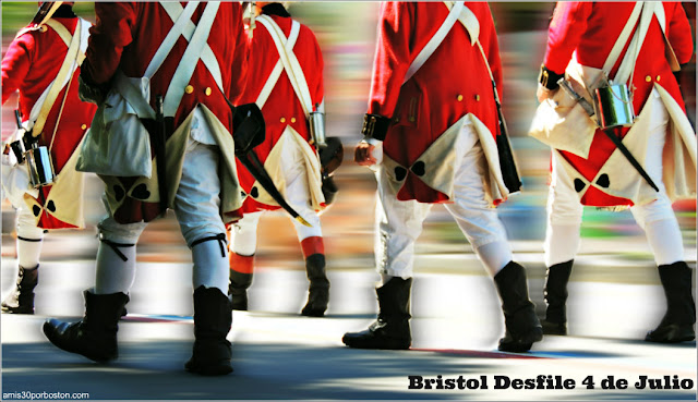 Desfile del 4 de Julio en Bristol, Rhode Island