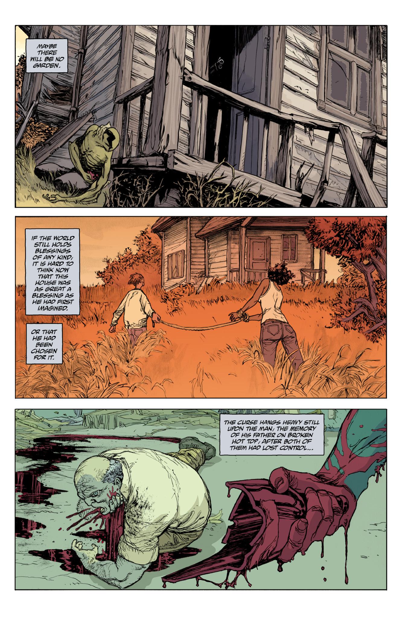 Read online Abe Sapien comic -  Issue #12 - 20