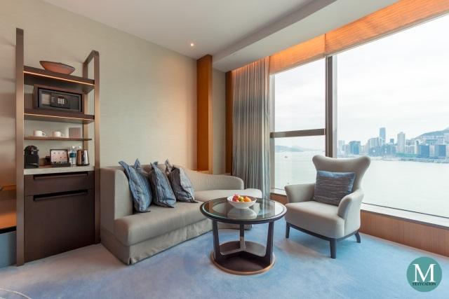 Premier Sea View Room at Kerry Hotel Hong Kong