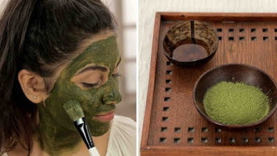 scar removal using green tea
