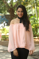 Rakul Preet Singh in lovely Pink Crop Top and Black Trousers at Jaya Janaki Nayaka success meet 082.JPG