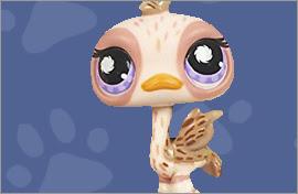 LPS Ostrich Figures