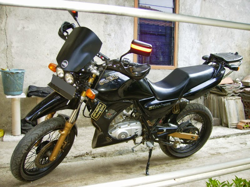 Kumpulan Modifikasi Motor Suzuki Thunder 125 Keren Terbaru
