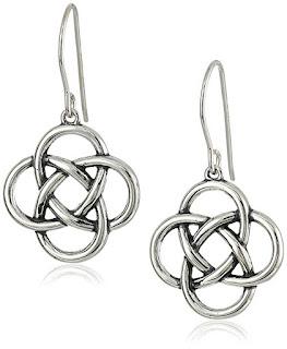 Sterling Silver Celtic Knot Earrings $10 (reg $19)