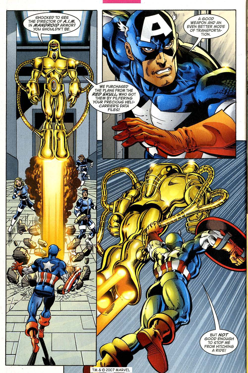 Captain America (1998) Issue #39 #46 - English 28