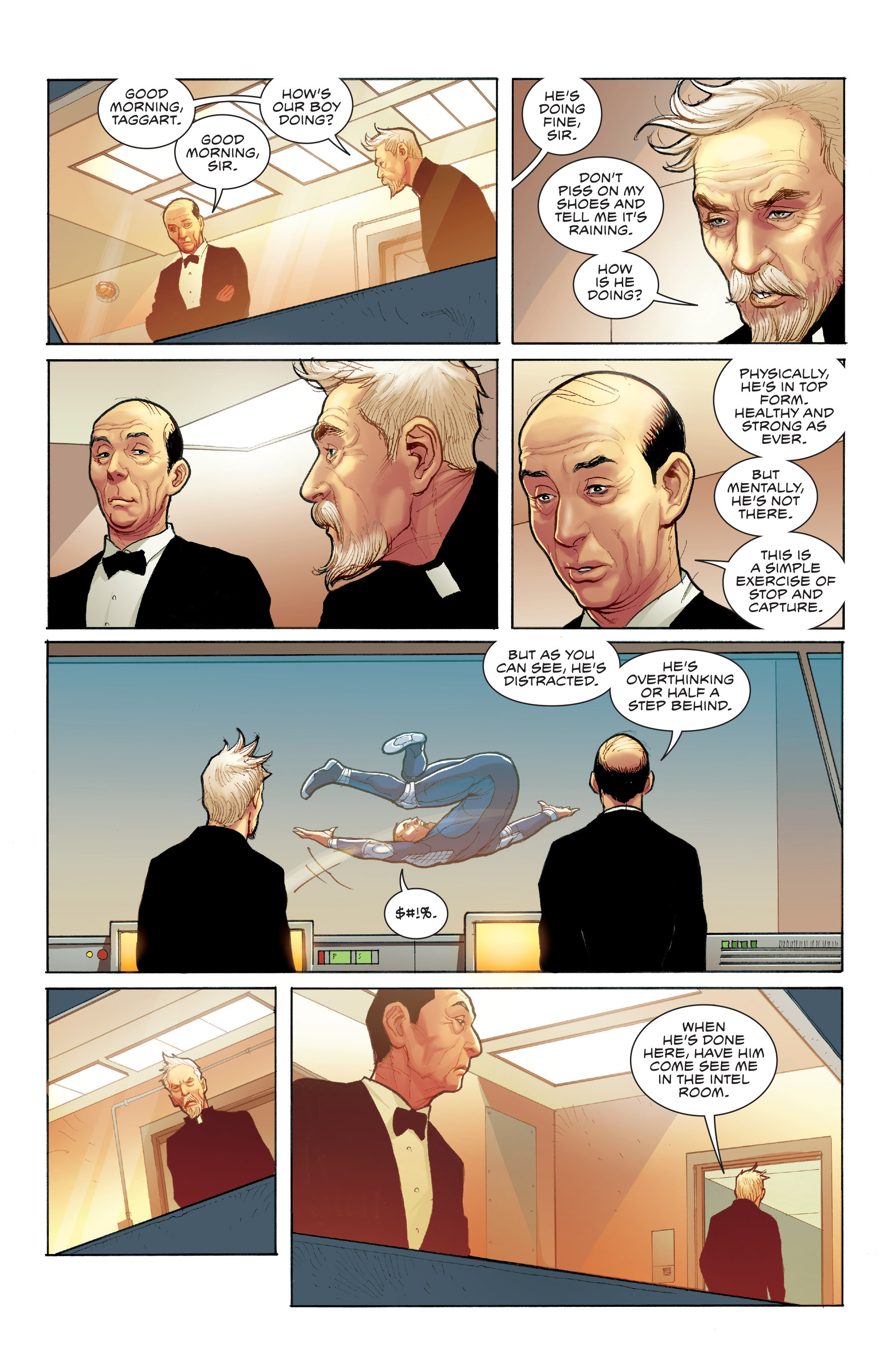 Read online Skybourne comic -  Issue #3 - 15