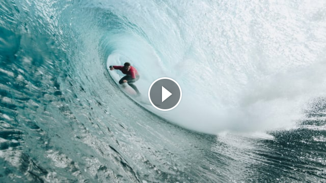 Hawaiian Nathan Florence wins big wave event Cape Fear at Shipstern Bluff coast - Highlights