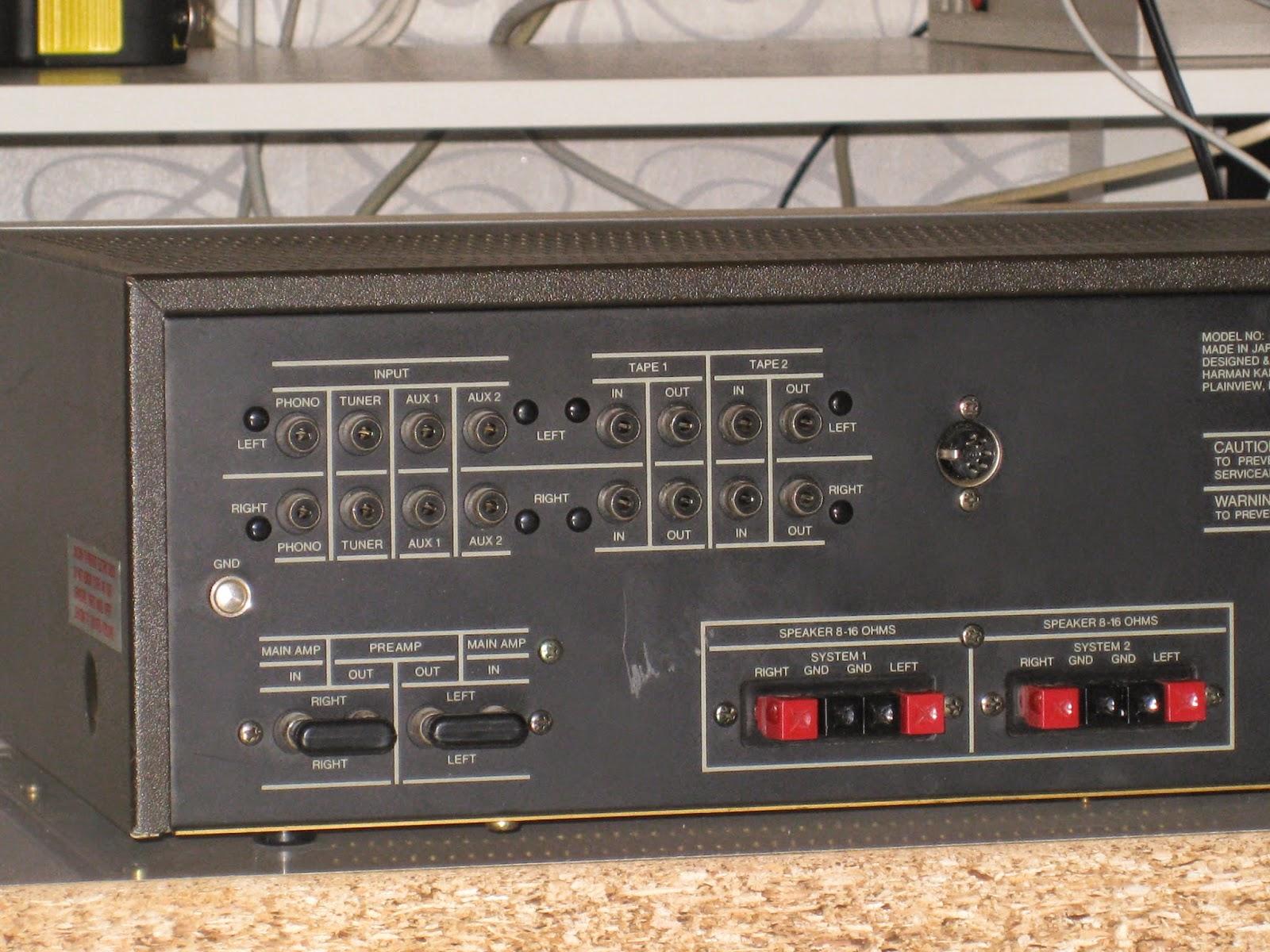 Infrequent Sound Sextex Technology Harman Kardon Hk 505 Twin Dc Coupled Audio Amplifier Powered Ultra Wideband Integrated