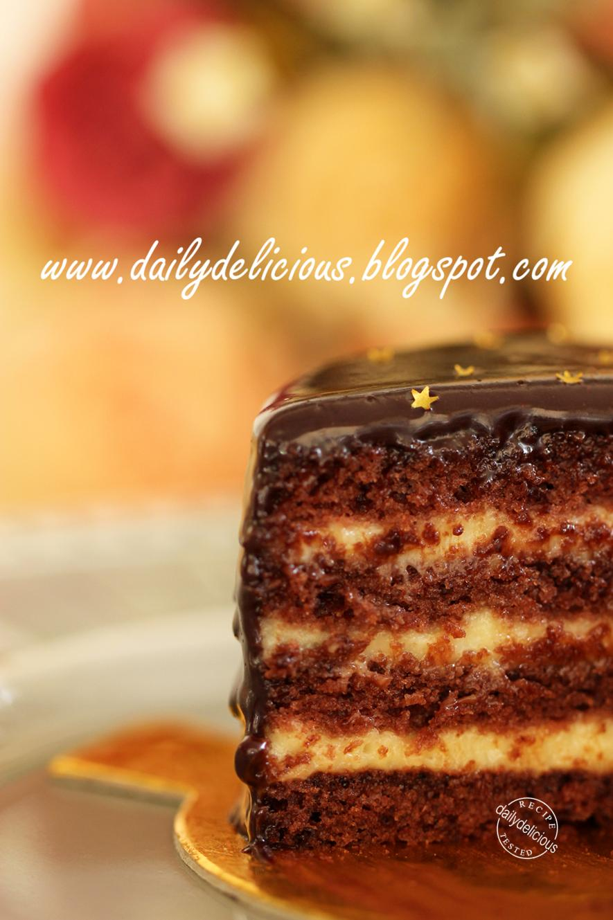 Boston Cream Cake Recipe Pinterest