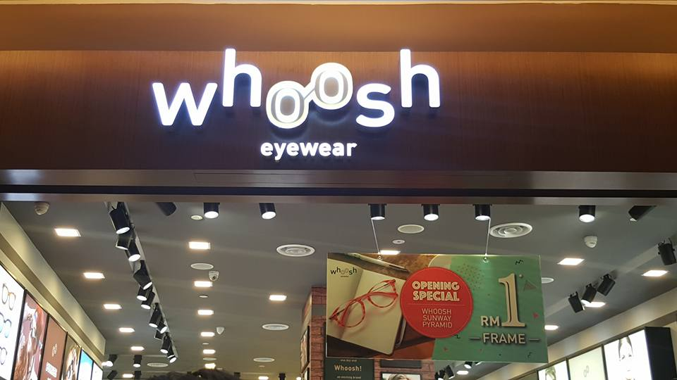 721526f3a Whoosh Eyewear new outlet @Sunway Pyramid &