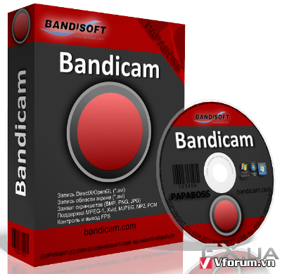Bandicam 4.0.2.1352 Full Key + Portable