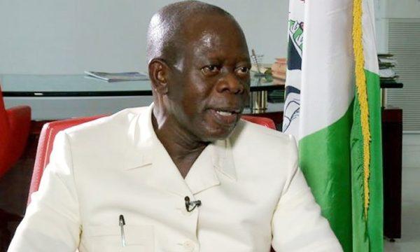 Adams Oshiomhole, Chairman of APC says party will sue INEC over Zamfara ban