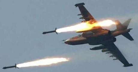 Jet Tempur Suriah-Rusia Bantai Puluhan Teroris ISIL
