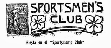 Cartel del Sportsmen's Club
