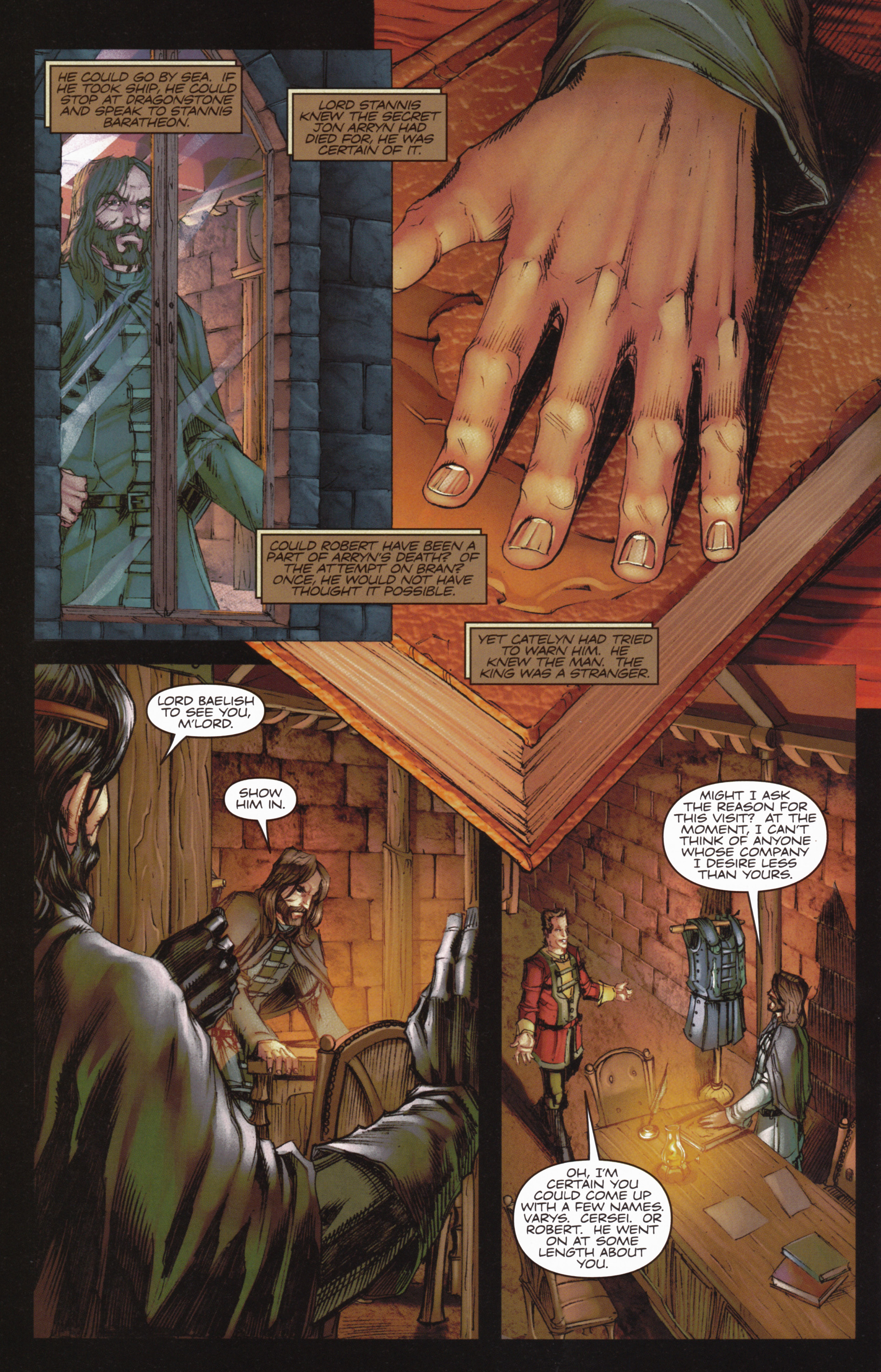 Read online A Game Of Thrones comic -  Issue #10 - 30