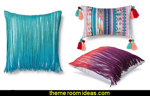 Boho Boutique pillows