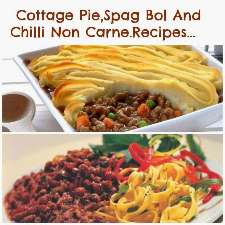 FRY'S Mince Cottage Pie, Spag Bol And Chilli Non Carne