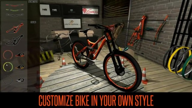 Download MTB Downhill PC Gameplay