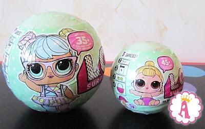 Большой и маленький шар LOL Surprise Dolls Series 2 (сезон 2)