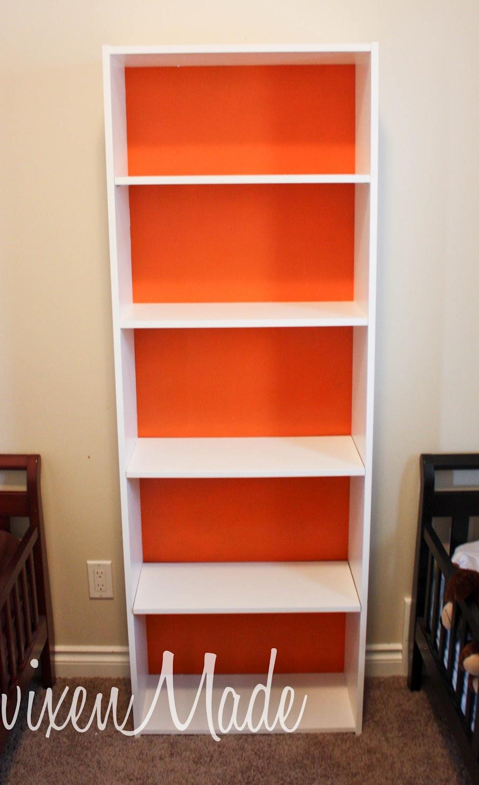 Vixenmade Ikea Bookshelf Makeover