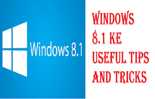 Windows 8.1 Useful Tips In Hindi