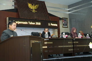 Walikota Sampaikan LKPj Tahun 2018