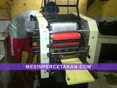 Mesin cetak Toko 820 - Test-print