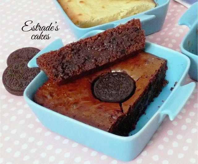 receta de brownie de Oreo 2